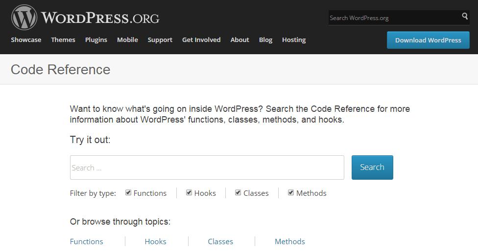 Learn to develop on WordPress 1 - WordPress Codex