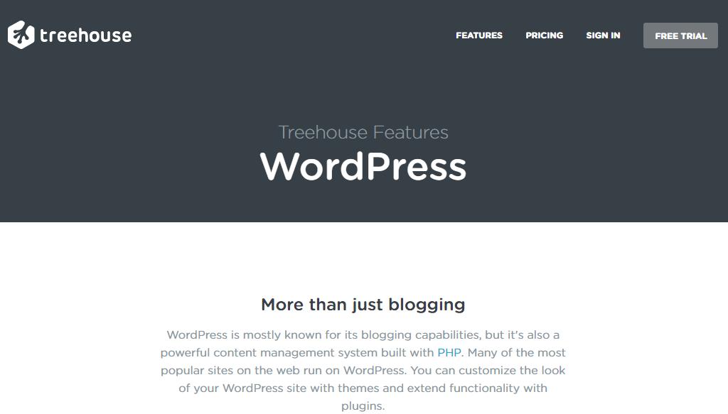 Learn to develop on WordPress 4 - Tree House
