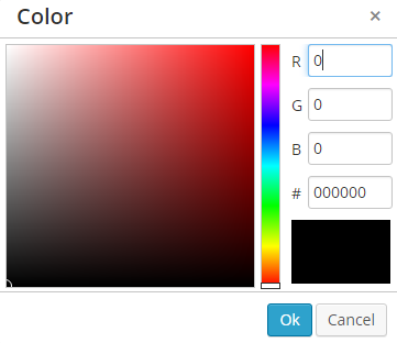 changing text colour on a pdf